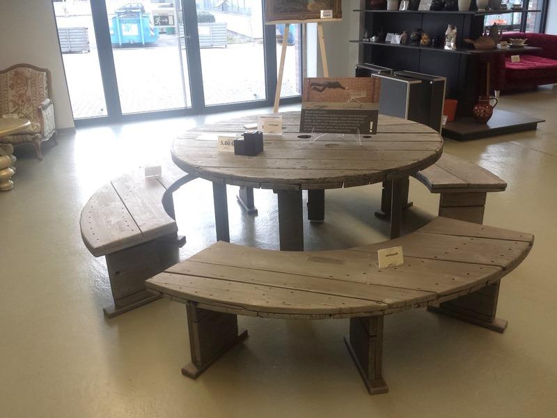 Tisch gro e kabeltrommel for Tisch kabeltrommel